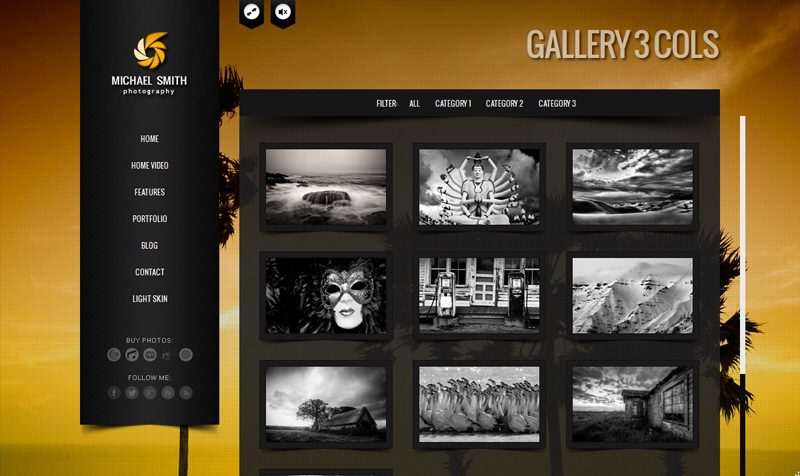 BIG Gallery - Fullscreen Photography Portfolio